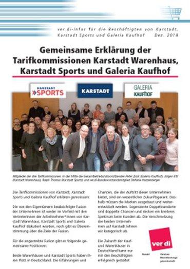 Karstadt-Galeria Dezember 2018