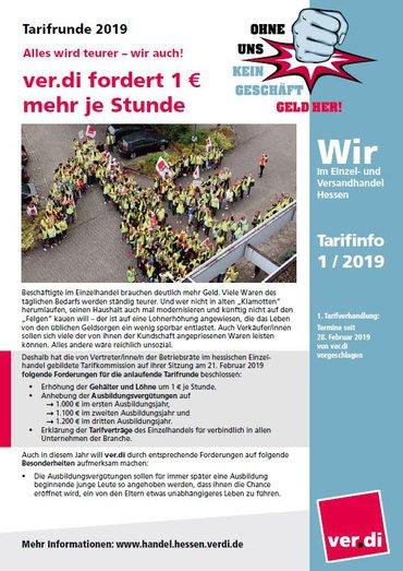 Tarifinfo EH-Hessen 2019-01