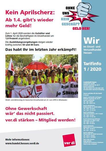 Tarifinfo Handel Hessen 2020-03