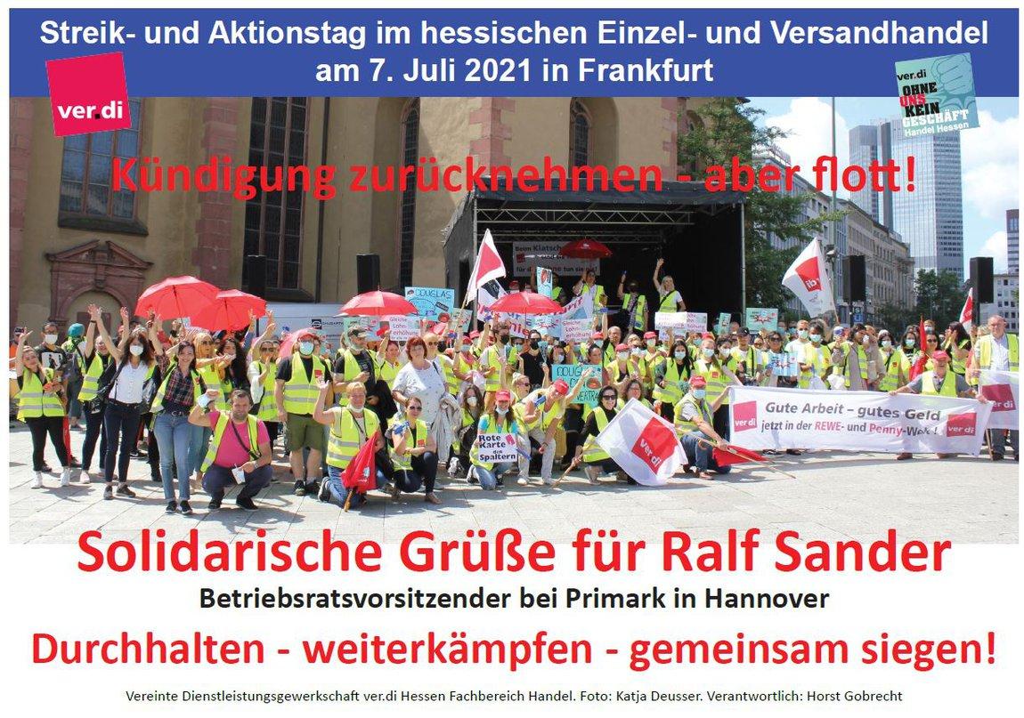 Streik- und Aktionstag 7.Juli 2021