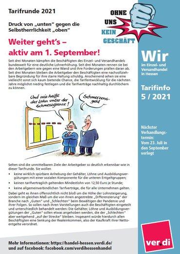 Tarifinfo EH Hessen 2021-06